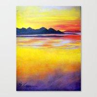 Landscape Painting  - Sp… Canvas Print