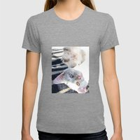 Beautifully Odd  Womens Fitted Tee Tri-Grey SMALL