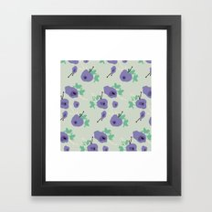 very violet Framed Art Print