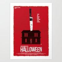 Halloween (Red Collectio… Art Print