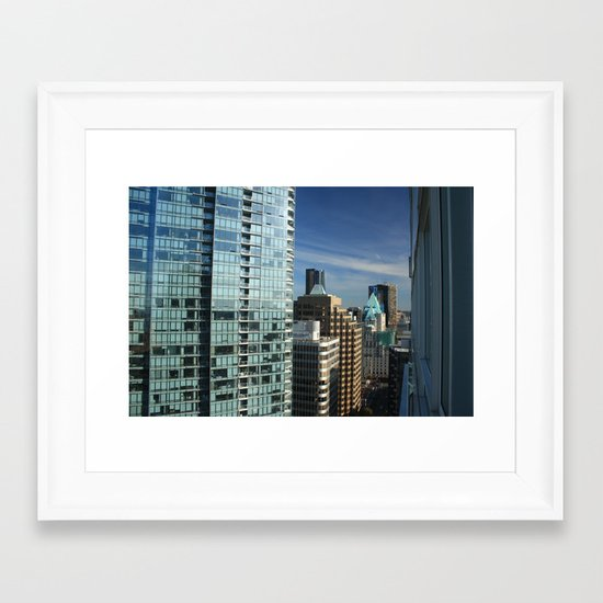 Skyline Framed Art Print