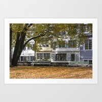 fall in Zurich Art Print