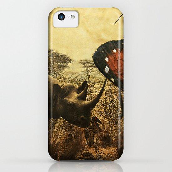 Diorama :: Rhinos iPhone & iPod Case