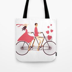 Love Couple Tote Bag