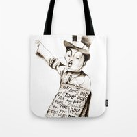 The POPO' Paperboy Tote Bag