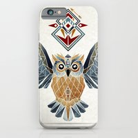 owl winter iPhone 6 Slim Case