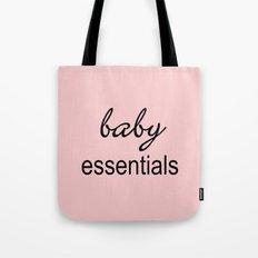 Baby Essentials Pantone 2016-Rose Quartz Tote Bag