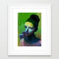 Anonym2 Framed Art Print