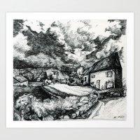 Guest House  Art Print