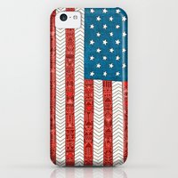 iPhone 5c Cases featuring USA by Bianca Green