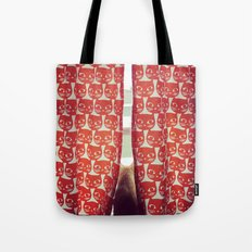Orange Cats Tote Bag