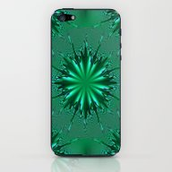 Seafoam Bursts - HS Seri… iPhone & iPod Skin