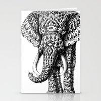 Navajo Elephant Stationery Cards