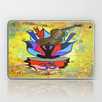 BLOOMING YOGA Laptop & iPad Skin