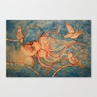 Sky Diver  Canvas Print