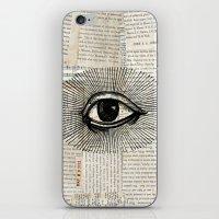 Eye Burst 2 iPhone & iPod Skin