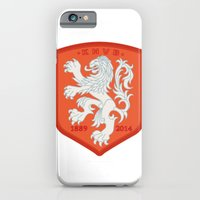 iPhone & iPod Case featuring Holland 2014 Brasil World Cup Crest by The Voetbal Factory