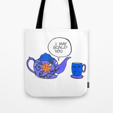 Tea Issues - Tissues Tote Bag