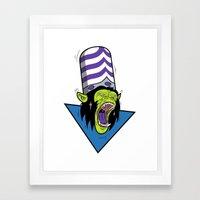Evil Mojo Framed Art Print