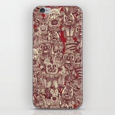 gargoyles red iPhone & iPod Skin