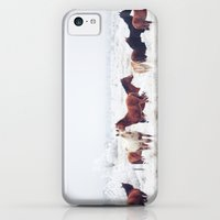 iPhone Cases featuring Winter Horseland by Kevin Russ