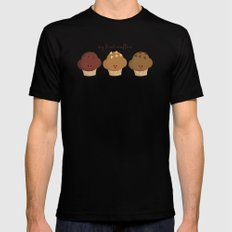 my first muffins Mens Fitted Tee Black SMALL