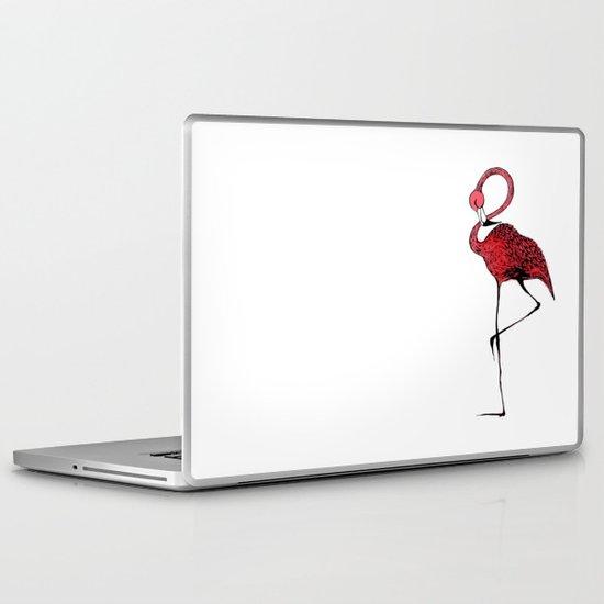 Mr. Flamingo Laptop & iPad Skin