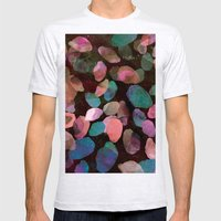 Galactic Gems  Mens Fitted Tee Ash Grey SMALL