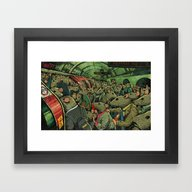 Tube Rats Framed Art Print