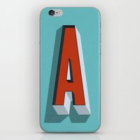 Letter A iPhone & iPod Skin