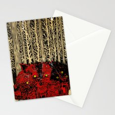 HELL WOLVES Stationery Cards