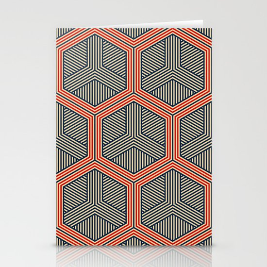 Hexagon No. 1 Stationery Card