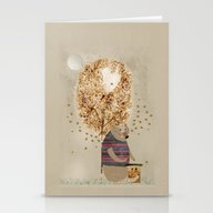 Stationery Cards featuring The Honey Tree by Bri.buckley
