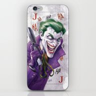iPhone & iPod Skin featuring Joker CCXP 2014 by Fabvalle
