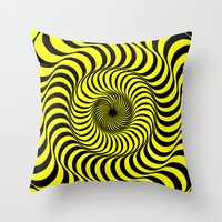 70's Summer Fun Throw Pillow