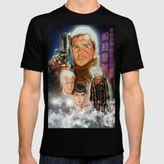 Blade runner Mens Fitted Tee Black SMALL