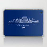 My City is Better Than Your City - Spokane, WA Laptop & iPad Skin