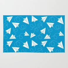Paper Plane Rug
