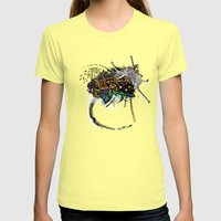 Indian Woman Womens Fitted Tee Lemon SMALL