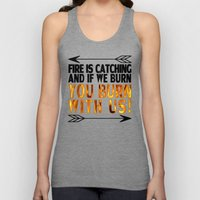 Fire is Catching! Unisex Tank Top
