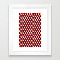 Cubed Framed Art Print