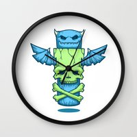 Grim Totem: A Forked Tongue Tale Wall Clock