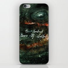 One Hundred Years of solitude iPhone & iPod Skin