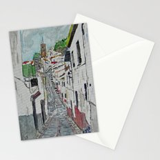 Calle en Ardales Stationery Cards