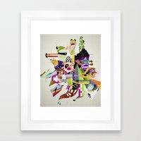Futureworld #01 Framed Art Print