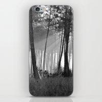 lumineuse brume iPhone & iPod Skin