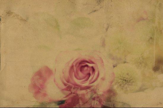 Victorian Flowers No.1 Art Print