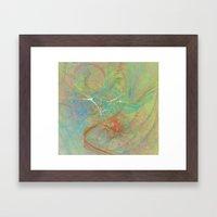 Electrifying Framed Art Print