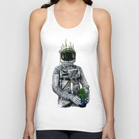 Cacti | Spaceman No:1 Unisex Tank Top