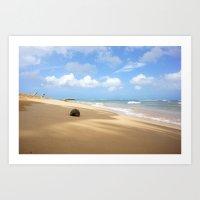 Loquillo Beach Photograp… Art Print